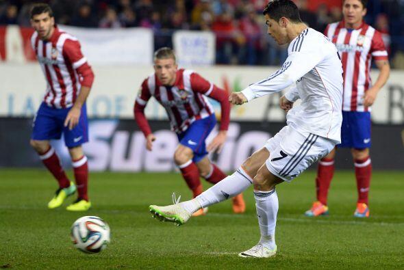 Dos penales transformados por el portugués Cristiano Ronaldo dier...