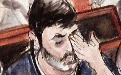 Efraín Antonio Campo Flores lloraba mucho al comienzo de las audi...
