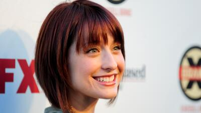 La actriz Allison Marck