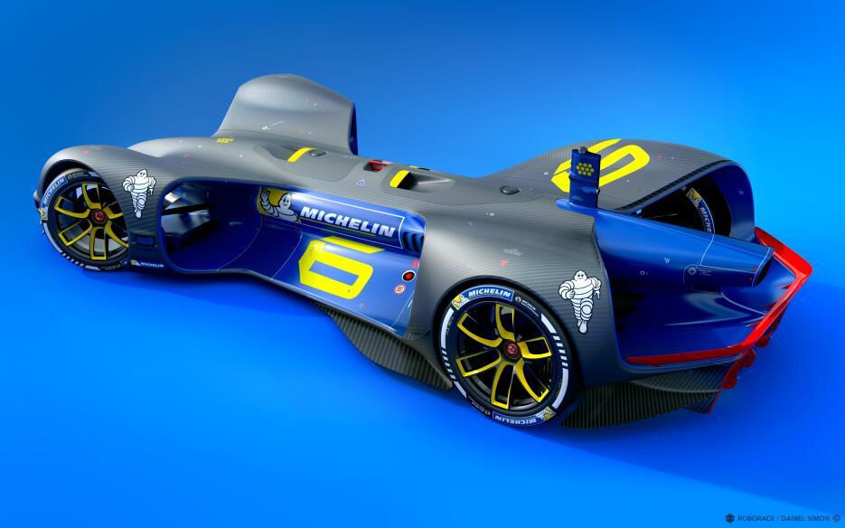 Este es el Robocar: el primer autos de carreras de manejo autónomo Miche...