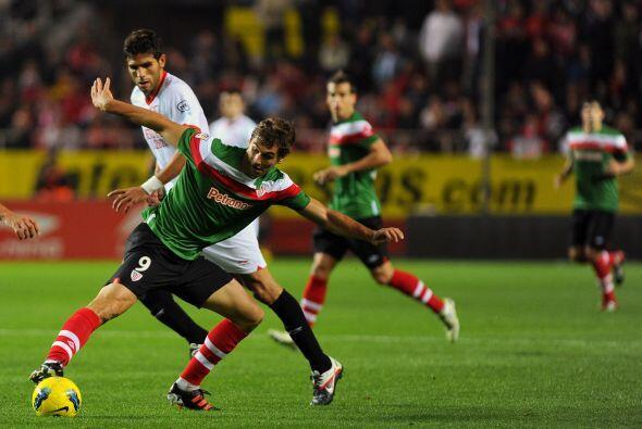 Pero el gran duelo del día lo dieron Sevilla y Athletic de Bilbao.