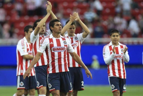 11.- Chivas con el ánimo a tope, nueve juegos sin perder.- Despu&...
