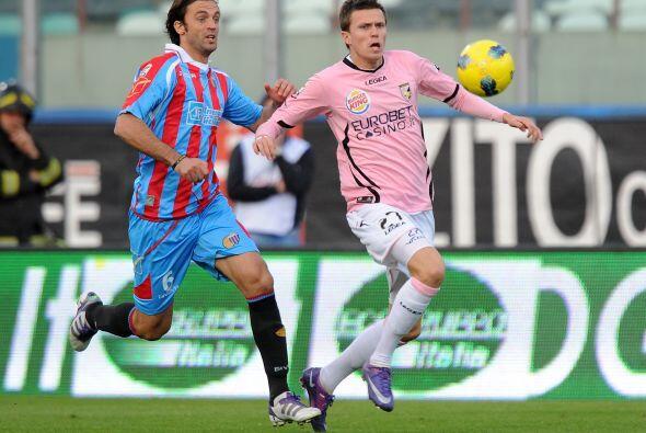 Francesco Lodi fue el autor de encarrilar a su equipo a la victoria marc...