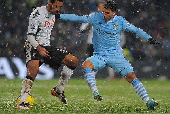 Fulham no pudo hacer mucho ante la superioridad del puntero de la liga.