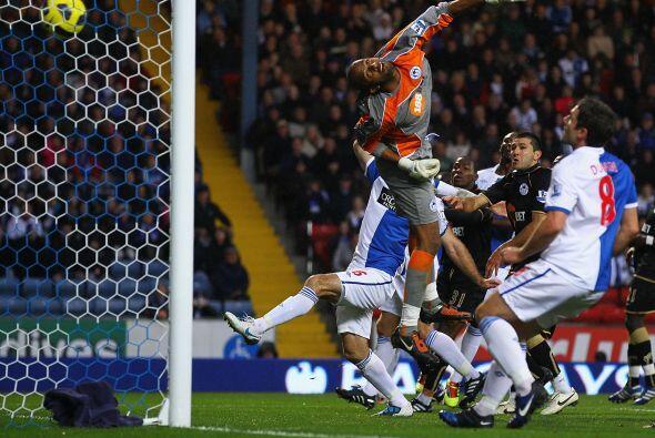 Blackburn Rovers consiguió un importante triunfo ante el Wigan At...