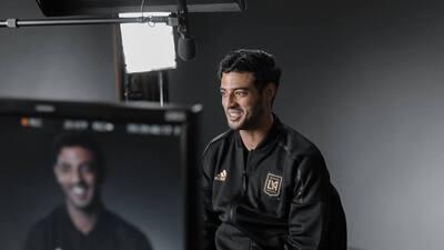 Carlos Vela realizó su primer entrenamiento con LAFC.