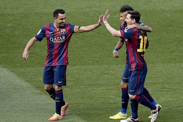 El partido parecía resuelto para el Barcelona.