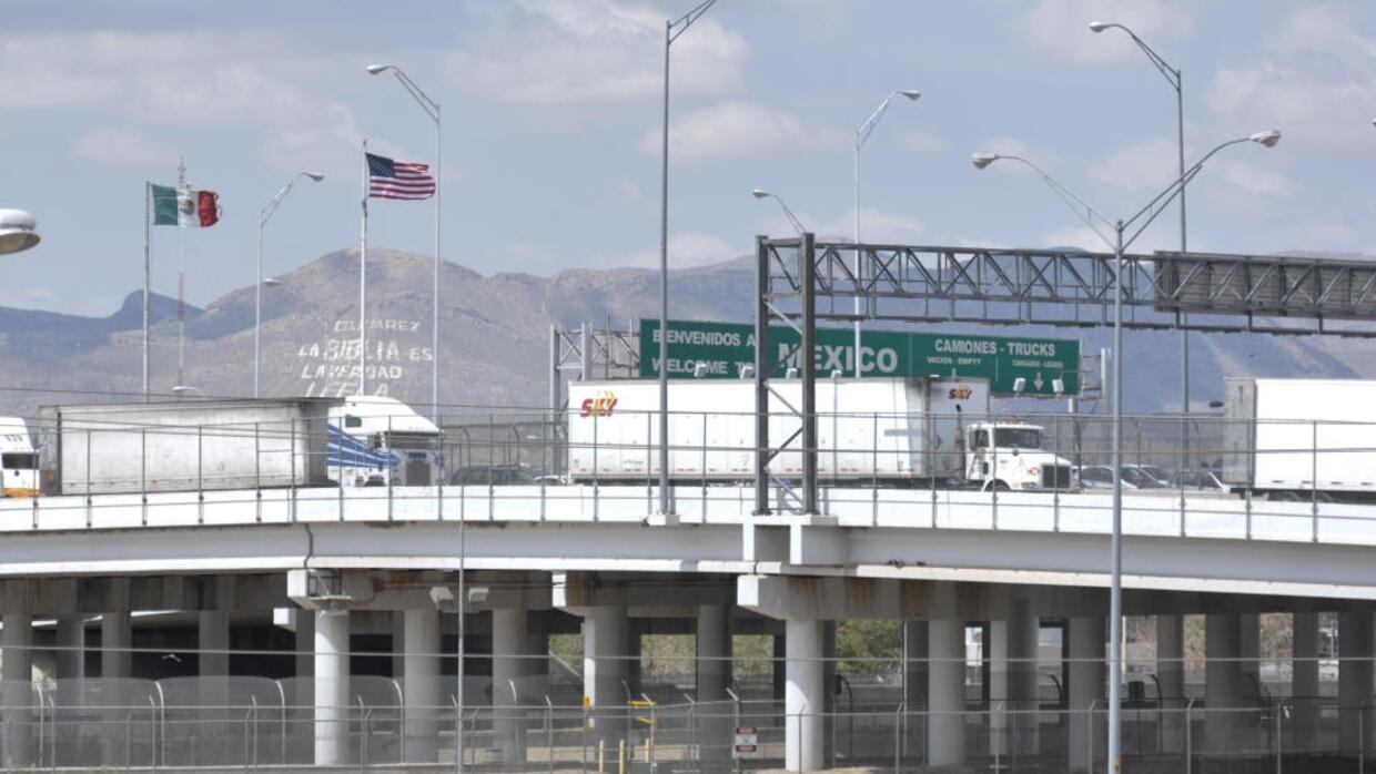 U.S.-Mexico border crossing