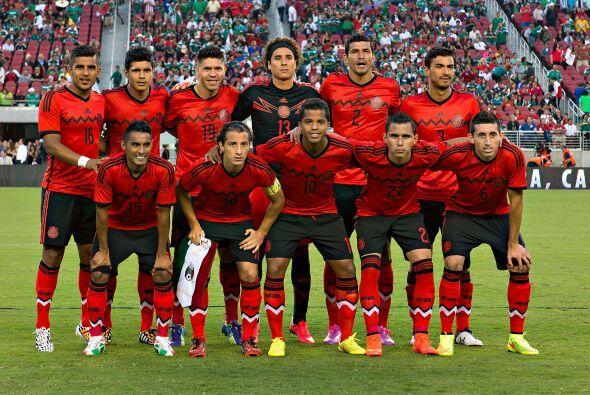 La Selección Mexicana de Miguel Herrera salió bien librada...