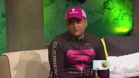 """Alfredo Ruiz: """"Mi Parkinson es 90 % mental y 10 % físico"""""""