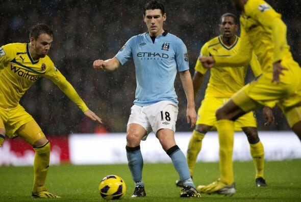 El jugador del Manchester City les salvó de un empate que habría sido do...