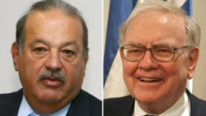 Carlos Slim y Warren Buffett.
