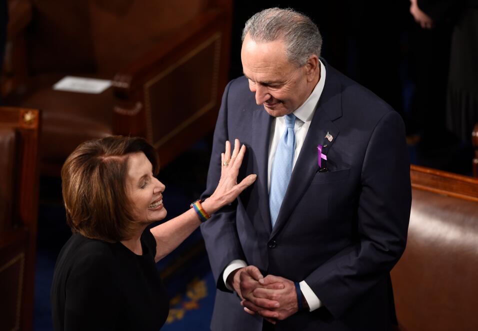 La líder de la minoría de la Cámara de Representant...