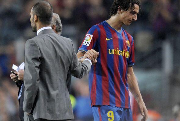 Guardiola Vs. Ibrahimovic. Zlatan Ibrahimovic jugó solo una temporada en...