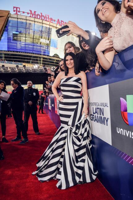 Gestos y selfies Latin Grammy