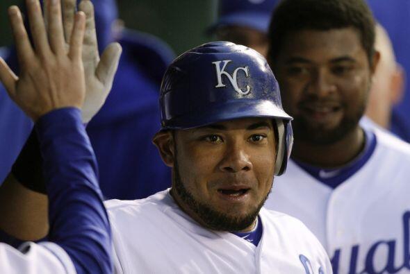 LF. Melky Cabrera. Reales de Kansas City. En el 2011, Cabrera tiene un p...