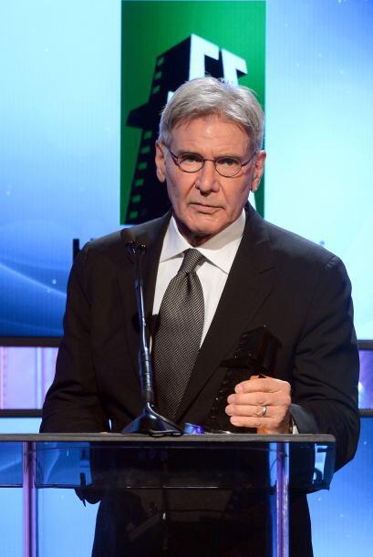 Harrison Ford recibió un reconocimiento especial a su carrera.Mira aquí...