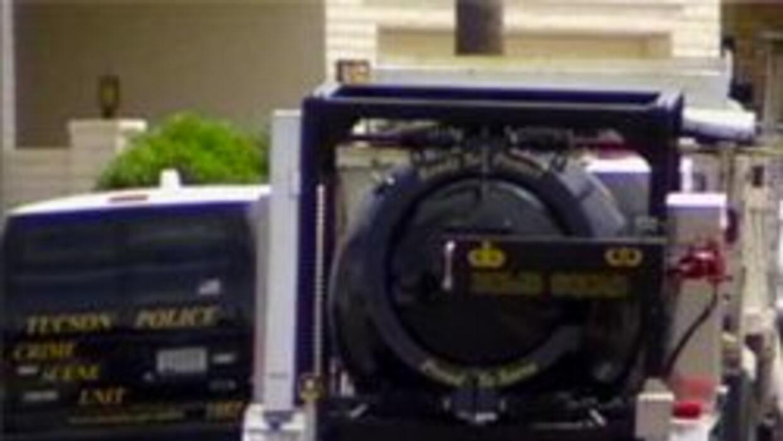 El equipo especial de explosivos de la policia de Tucson