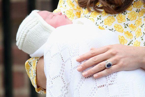 La princesita se llama Charlotte Elizabeth Diana, ¡hermosa elección!