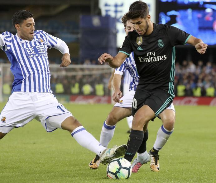 (La Liga) - Real Sociedad 1-3 Real Madrid: no fue titular, pero Carlos V...