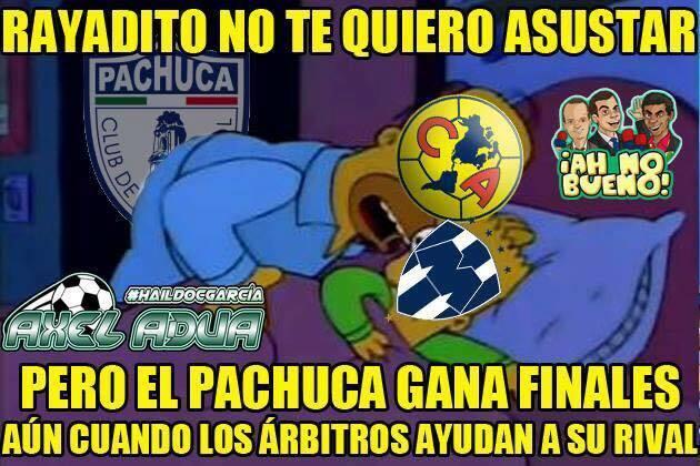 """Memes de la """"Cruzazuleada"""" de Monterrey"""