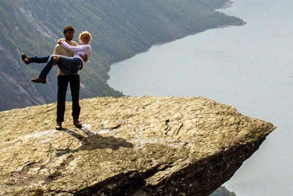 Harald trabajó en la idea para hacer de la propuesta, la más romántica y...