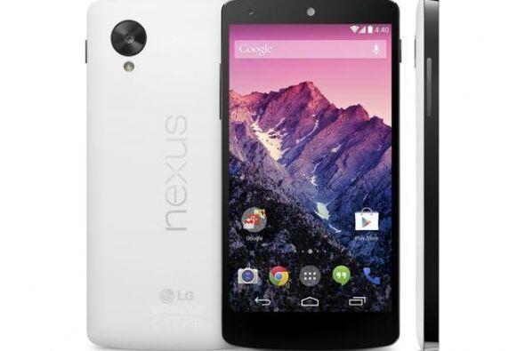 Google Nexus 5 Como todos los teléfonos de Google, en este dispositivo c...