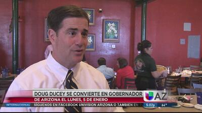 Ducey se prepara para asumir gobernación