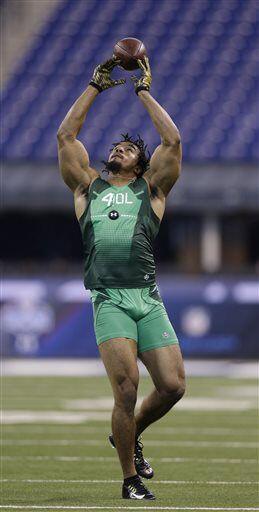 Vic Beasley, pass rusher, Clemson (AP-NFL).