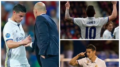 James le puso una condición a Florentino para continuar en el Madrid