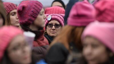 Se estima que medio millón de personas asistió a la Marcha de las Mujere...
