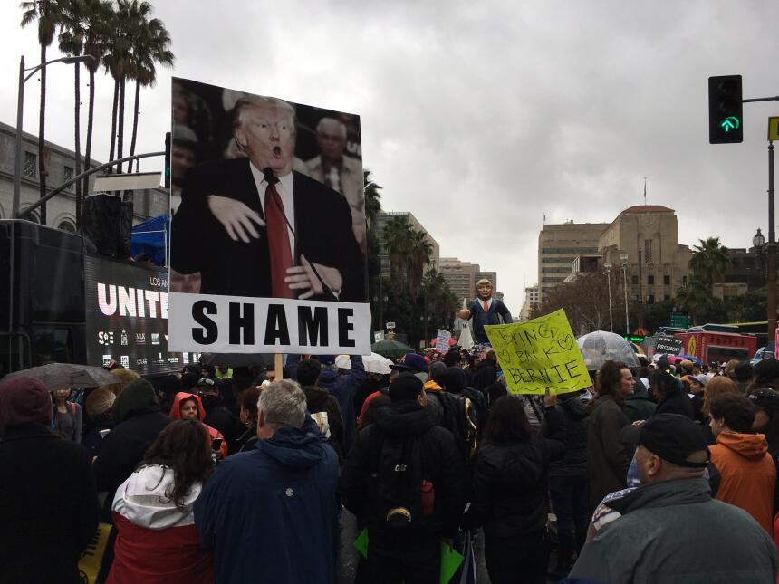 """""""Vergüenza"""", la palabra con la que reprocharon la burla de Trump a un pe..."""