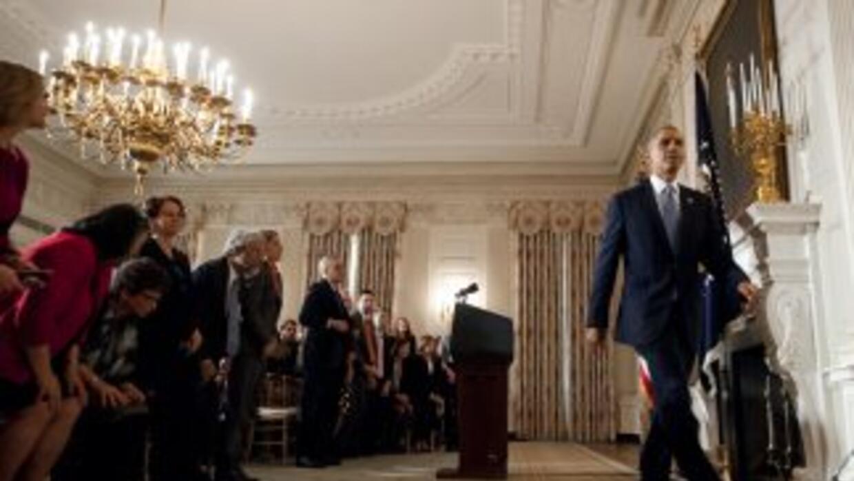 A la Casa Blanca, la falta de acuerdos que mantuvieron parcialmente para...