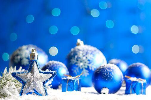 El azul es un color que veremos mucho más en estas épocas, es una elecci...