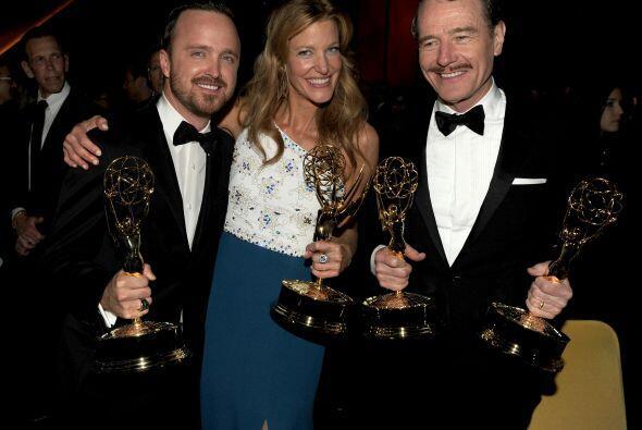 Bryan cerró 'Breaking Bad' en 2014 con otro triunfo en el Emmy, así como...