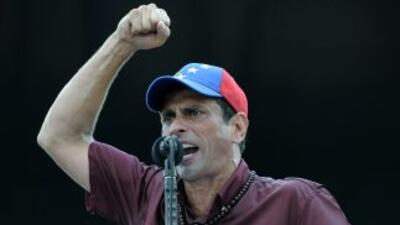 El opositor Henrique Capriles ha señalado que de ganar las elecciones de...