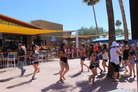 """Una tremenda """"Fiesta de Verano"""" disfrutaron cientos de personas en """"Wet..."""