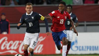 Costa Rica vs Francia Mundial Sub 17