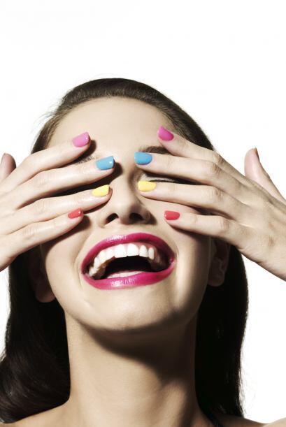 A puro color. ¿Quién dijo que todas las uñas deben lucir iguales? Elige...