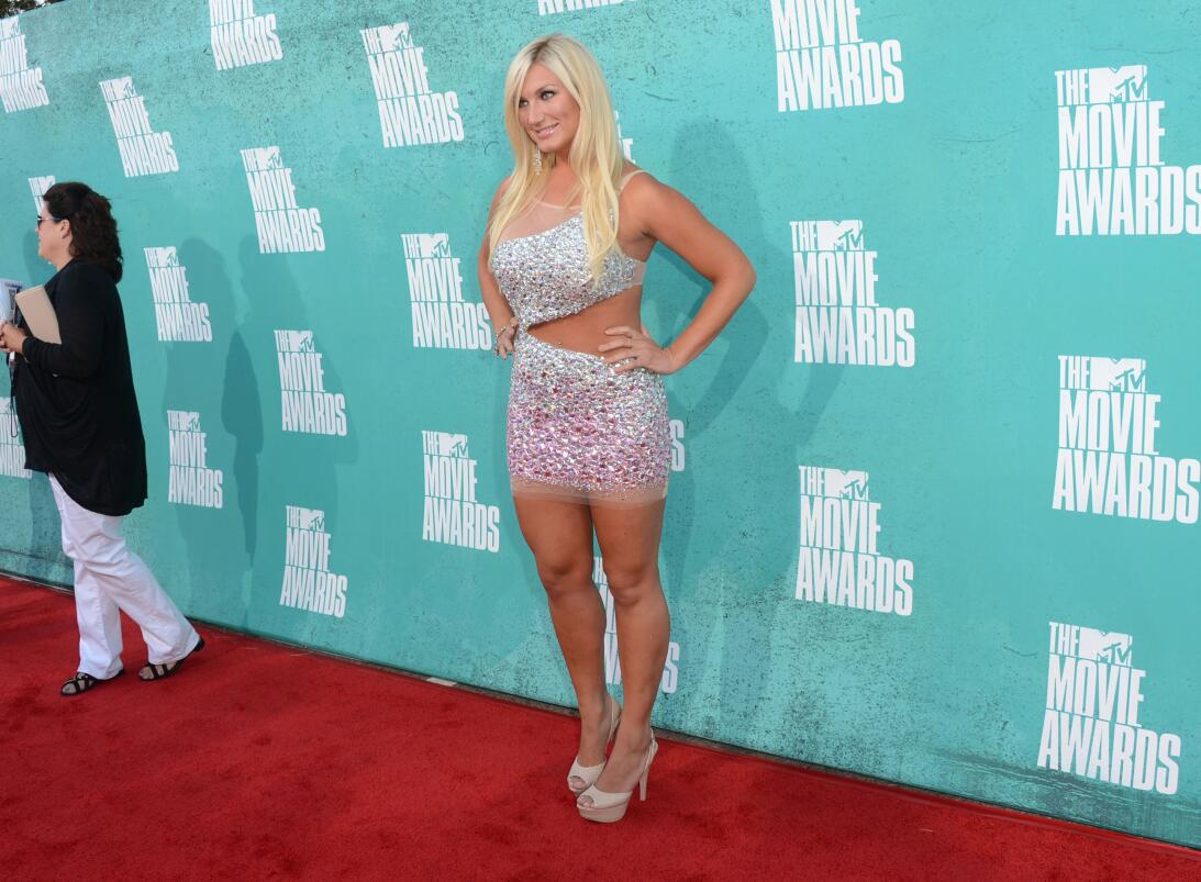 Brooke Hogan, la sexy hija de una leyenda de la lucha libre GettyImages-...