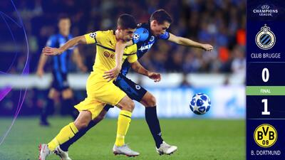 Christian Pulisic le da la victoria al Dortmund sobre el Club Brugge