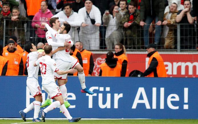 En fotos: dura caída del Leverkusen, con el 'Chicharito', ante el Mainz...