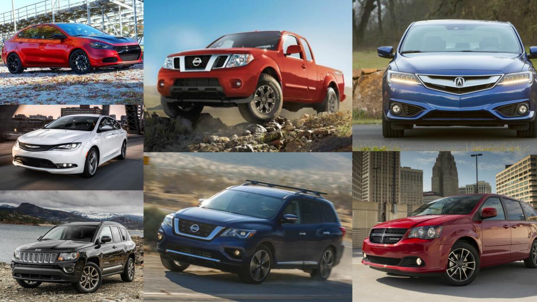 Consumer Reports publicó una lista con los siete vehículos que menos log...