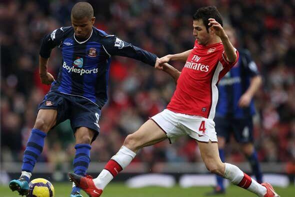 En la vigesimo séptima jornada de la 'Premier League' inglesa, Arsenal j...