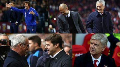 Premier League: choque de algunos de los mejores técnicos de fútbol del mundo