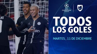 Todos los goles de la Jornada 6 día 1 de la UEFA Champions League