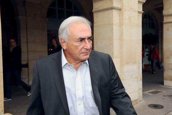21 de febrero de 2012: Strauss-Kahn pasa la noche en detención preventiv...