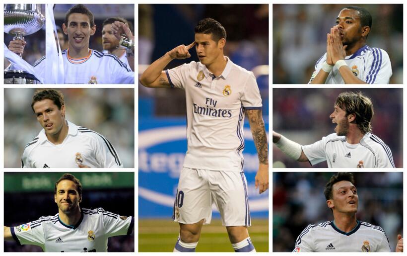 El Real Madrid alarga la maldición del número '10' ¿Quién lo heredará? T...