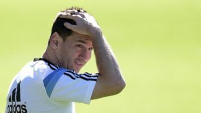Lionel Messi no se confía de que Argentina consiguiera el primer lugar d...
