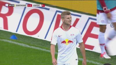 Timo Werner no supo cómo recortar el marcador ante Burki